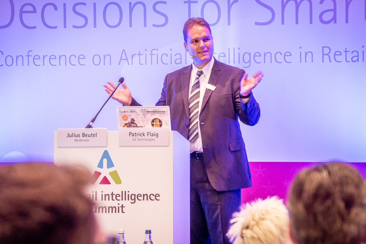 Case Study B2B Julius Beutel | prudsys retail intelligence summit | AI for Retail