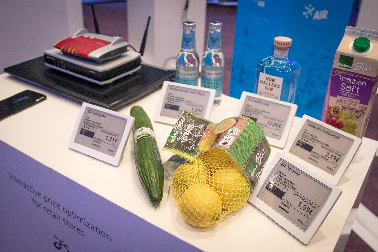 Electronic Shelf Labels im Innovation Hub | prudsys retail intelligence summit | AI for Retail